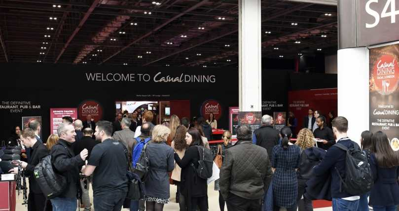 Casual Dining Wows Restaurant & Pub Sector at its New ExCeL Venue