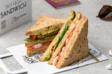London Stansted Airport launches The 'Sky High Sandwhich' Created with Umami Rich Flavours That Come Alive in the Air