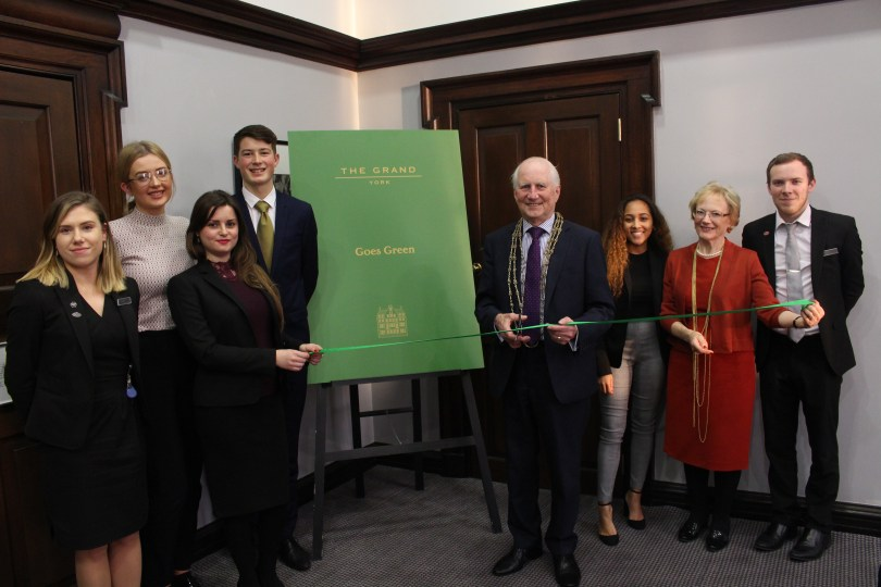 The Grand, York, Goes Green