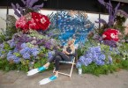 Seaside Gin in the City: Edinburgh Gin & John Lewis & Partners Unveil Giant Gin-Themed Flower Display For Chelsea in Bloom