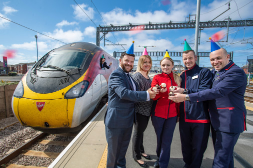 Journeys Soar on Virgin's Blackpool Route