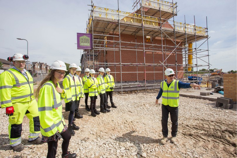 McCann and Peter James Homes Supporting Local Students as Part of National Go4SET Initiative