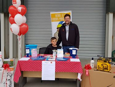NYEs Building Supplies Raises £794 for Charity During Family Fun Day