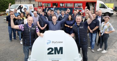 Portview Celebrates Major Safety Milestone with 2 Million Hours Worked RIDDOR Free