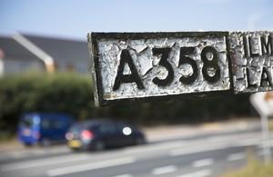 Preferred Route for A358 Taunton to Southfields Scheme Revealed