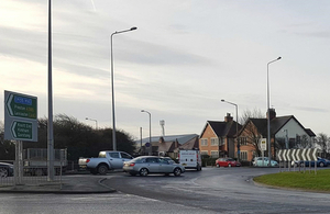 £5 Million A585 Junction Transformation Starts