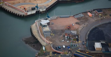 £67m Ipswich Tidal Flood Barrier Wins Top Engineering Award