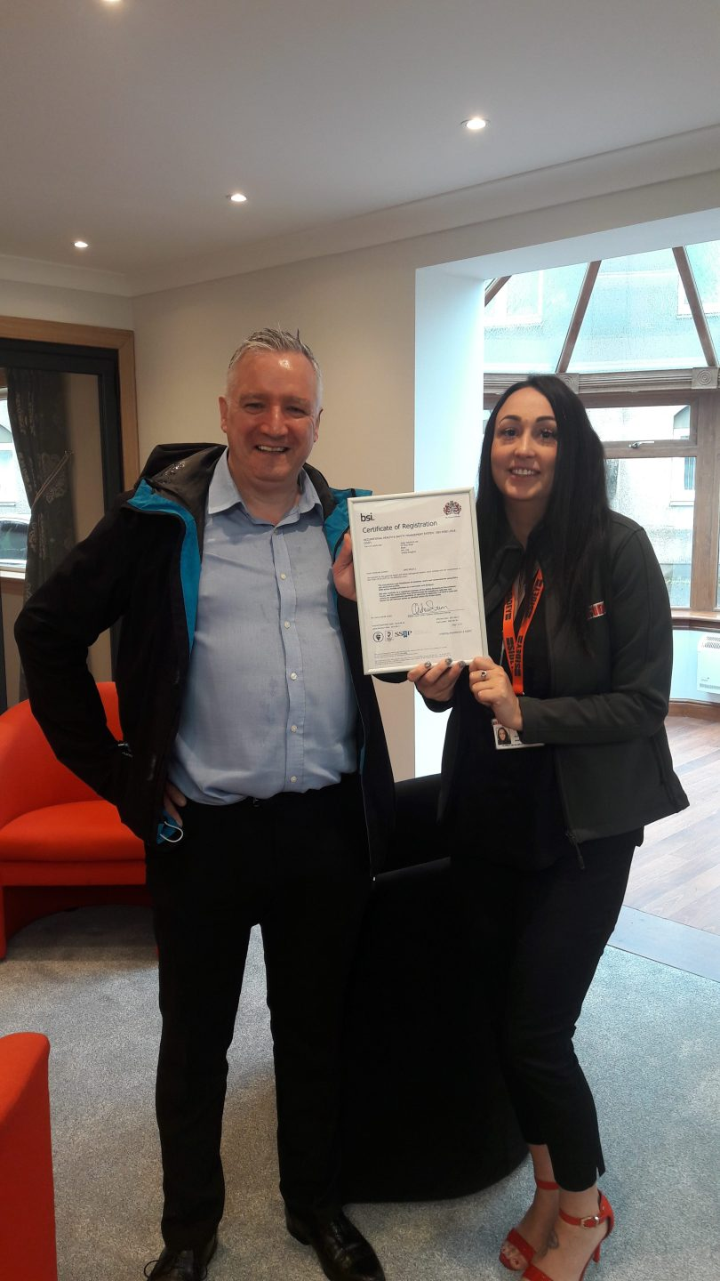 Sidey Achieves New ISO 45001:2018 Safety Certification