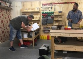 Covers Bognor Regis Donates Materials to Men's Shed