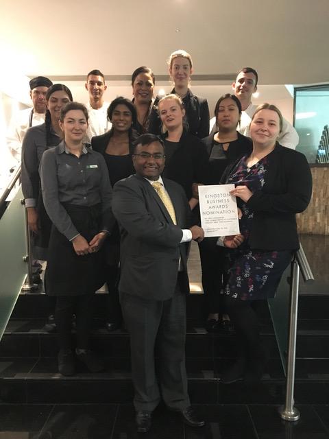 Sun Hotel Kingston Nominated Twice for Kingston Business Awards