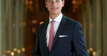 Richard Schestak Appointed Managing Director of Siam Kempinski Hotel Bangkok, Thailand