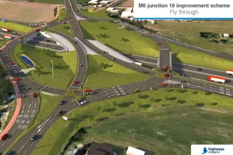 Green Light for Major M6 Roundabout Improvement