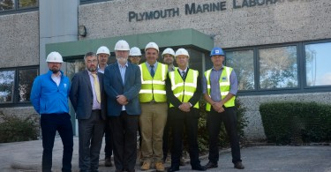 Construction Team Hand-Over Newly Refubished Scientific Research Centre