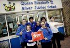 Queen Elizabeth II Silver Jubilee School receives funding