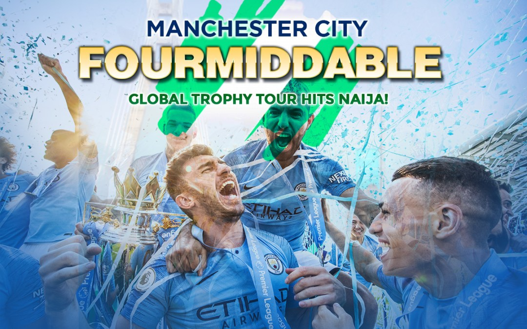 Manchester City Global Tour Hits Naija
