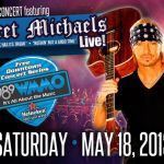Bret Michaels perfoming at downtown Orlando concert series