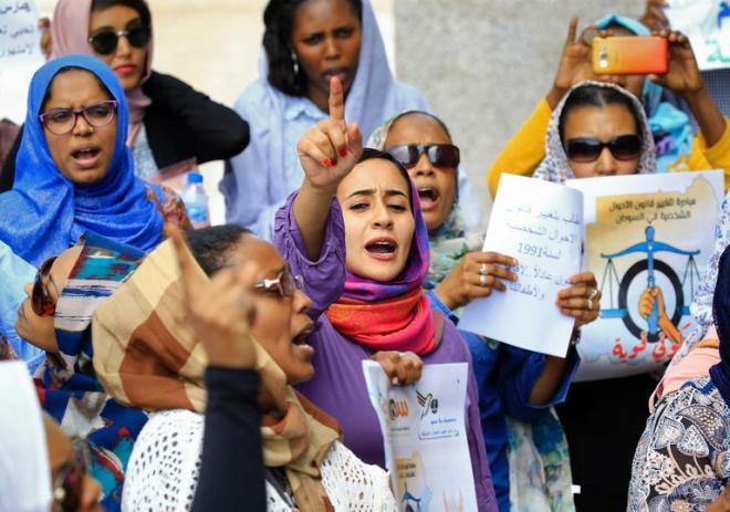 SUDAN-WOMEN-POLITICS-SOCIAL