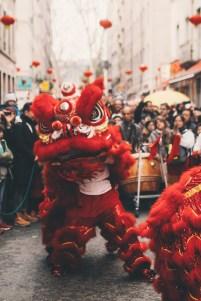 Dragon dans les rues de Lyon2