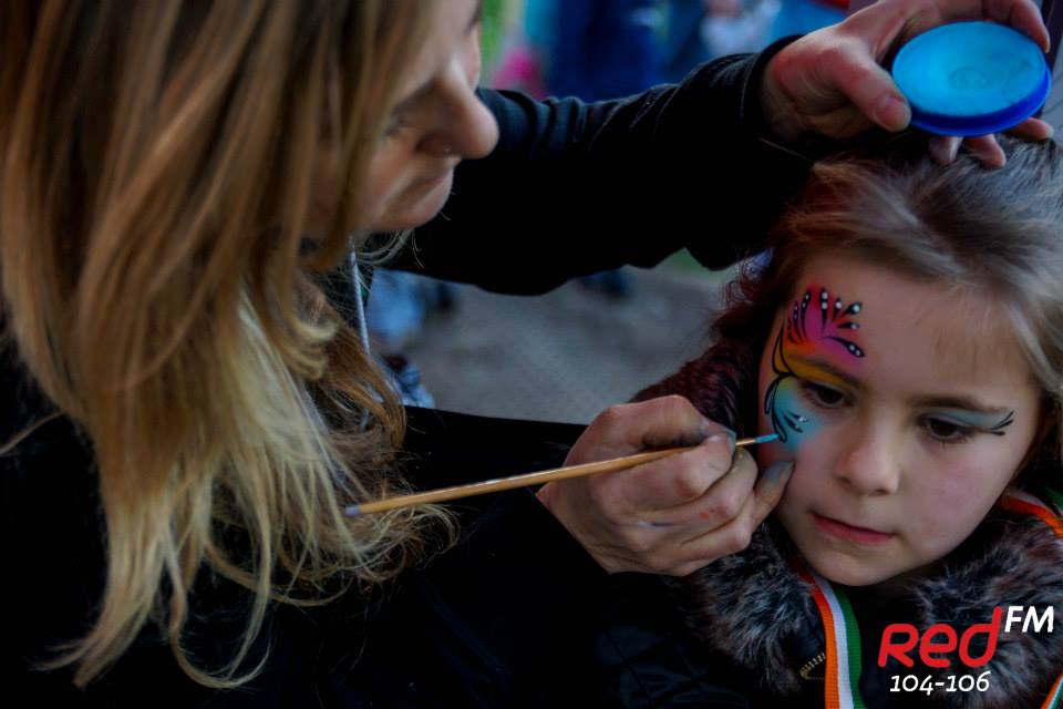 Face painting workshop Dublin 28/05/2016