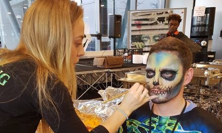 CORK FACE PAINTING WORKSHOP 04/11/2018.  FULLY BOOKED