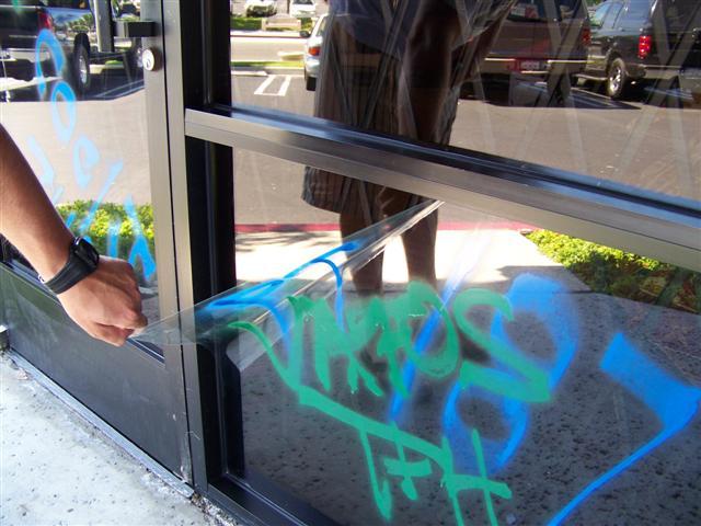 Anti Grafitti 3M Film
