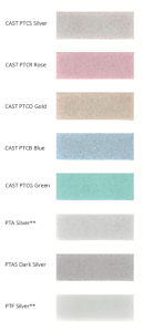 Ritrama - Etch/Haze/Sandblast Colour Swatch