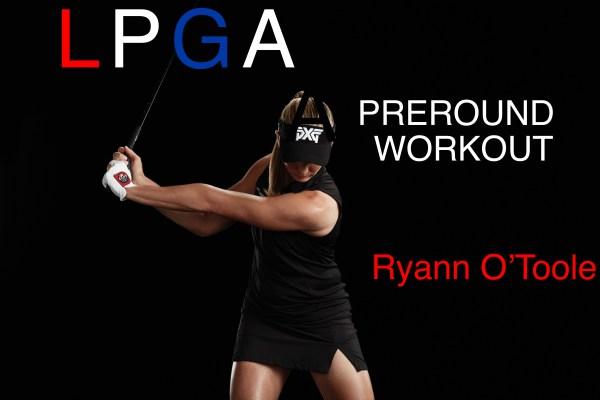 golf fitness training