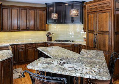 Picasso Granite Kitchen Countertops