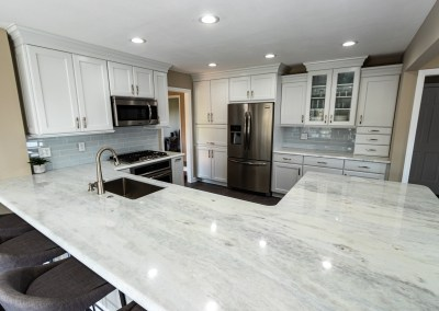 Shadow Storm Marble Kitchen Countertops