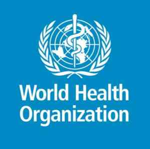 World Health Organization Logo with Crest
