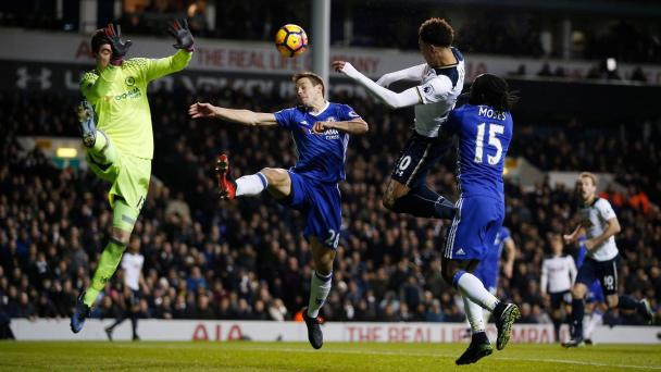 Image result for tottenham vs chelsea 2017