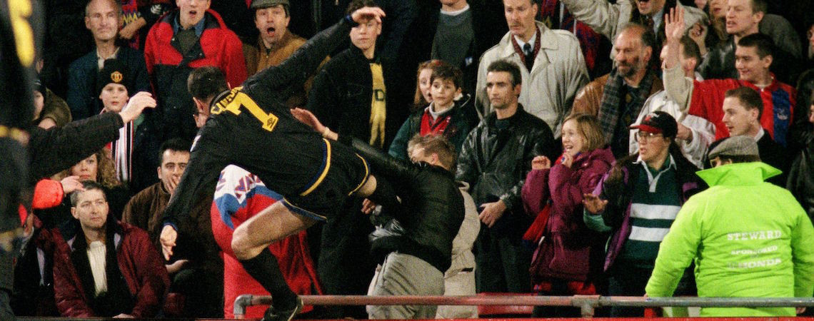 I should have hit him harder. Cantona S Kung Fu Madness January 1995 Premier League Archive