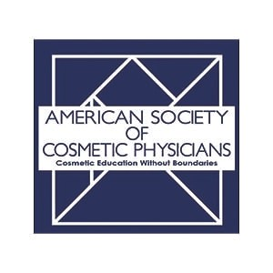 american society of cosmetic physicians logo