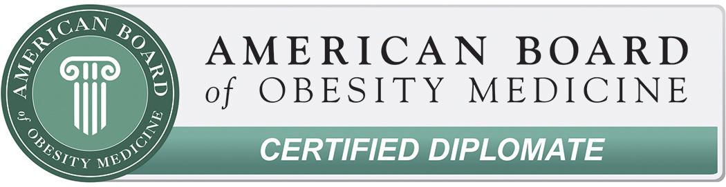 American Board of Obesity Medicine Certified diplomate