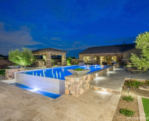 our projects custom pool builders phoenix arizona