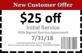 Naples Pest Control Coupon Good Until 7/31/18