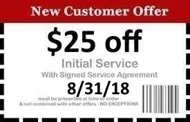Naples Pest Control Coupon Good Until 8/31/18