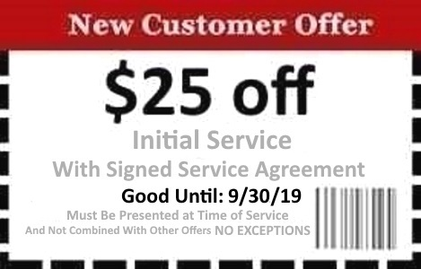 Naples Pest Control Coupon Good Until 9/30/19