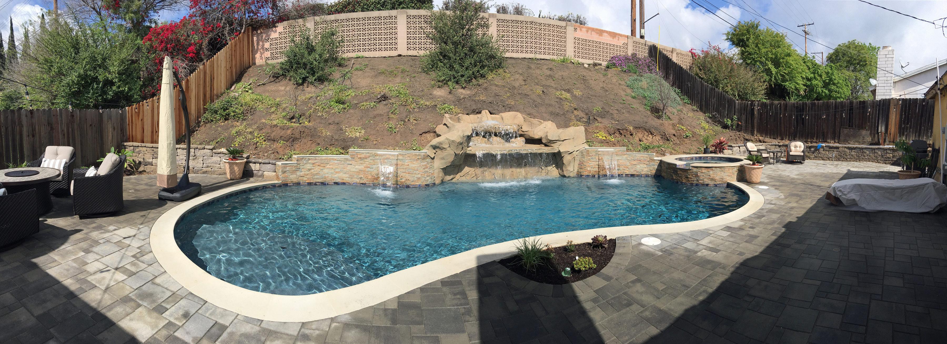 north georgia build a pool patio in