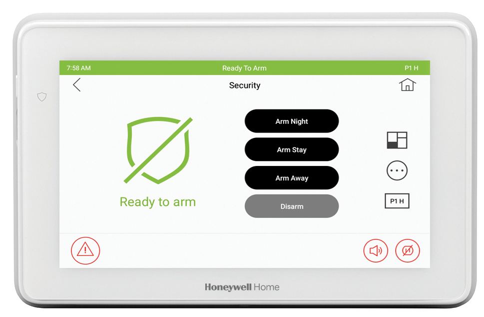 Honeywell Total Connect Resideo new security system