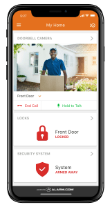 Home Security system monitoring Marietta GA