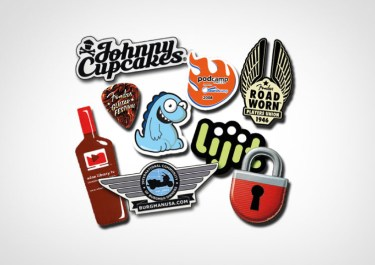Die Cut Stickers Various