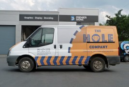 Logo Design and Wrap and Signage