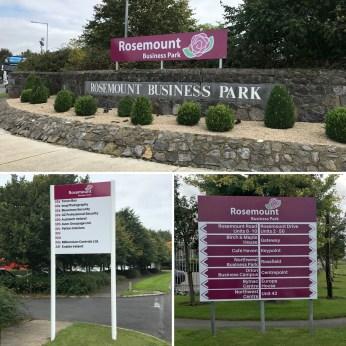 Business Park Signage