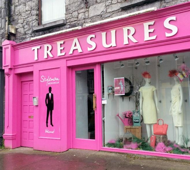 Treasures Shop Front