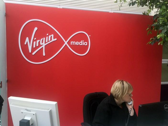 Virgin Media FoamexSign