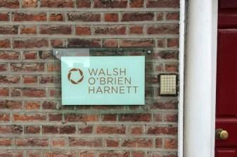 Walsh O'Brien Harnett Acrylic Plaque