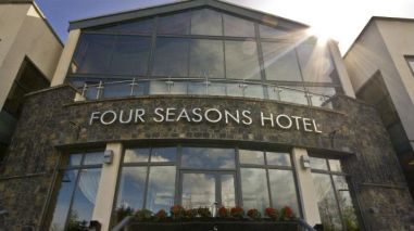 Four Seasons - Built Up Stainless Steel Lettering
