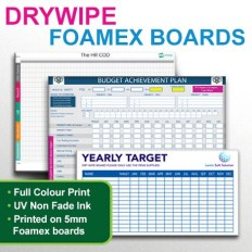 Drywipe Foamex Panel