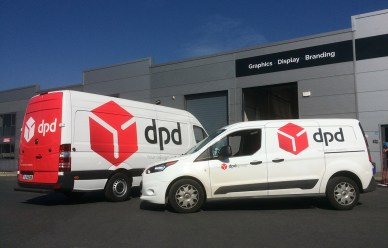 DPD Fleet Branding